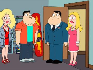 Stan y Francine viajan al pasado
