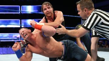 "Dean Ambrose se impone a ""Superman Cena"" en 'Smackdown'"