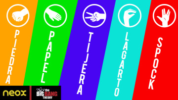 ¿Sabes jugar a 'Piedra-Papel-Tijera-Lagarto-Spock'?