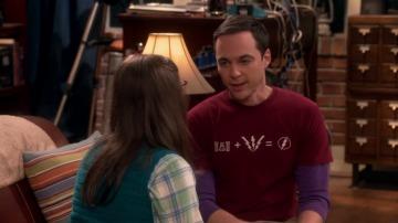 Sheldon y Amy pelean por el horario del baño