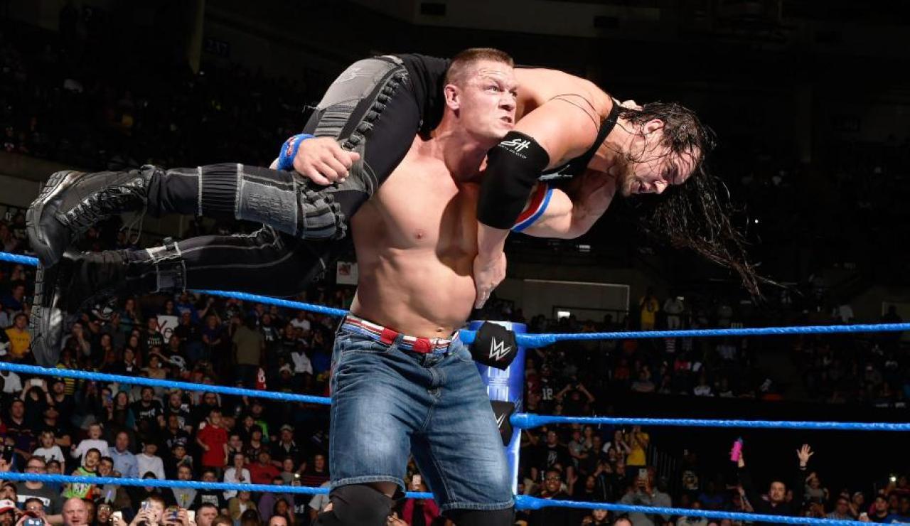 John Cena quiere el cinturón de AJ Styles