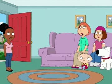 """Frame 23.1645 de: """"Peter: no quiero que Pam salga con un blanco"""""""