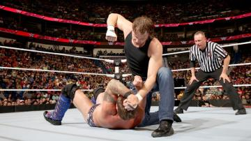 Dean Ambrose vs Jericho en 'Raw'