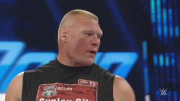 Brock Lesnar se venga de Randy Orton