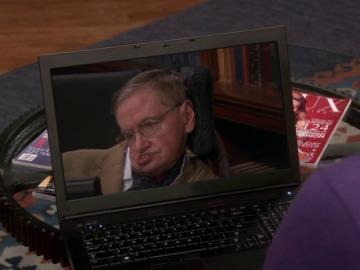 """Frame 37.798489 de: """"No tengo el Nobel, pero he salido en los Simpson y en Star Trek"""""""