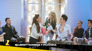 Rubén (MYHYV) le regala 'Antología poética' de Machado a Tamara