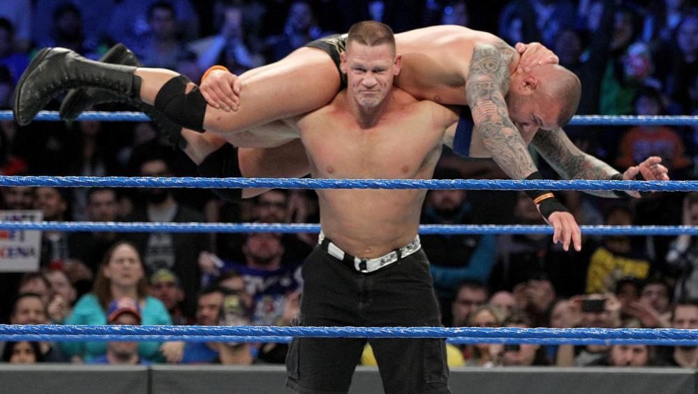 John Cena se impone a Randy Orton en su particular 'Road to Wrestlemania'