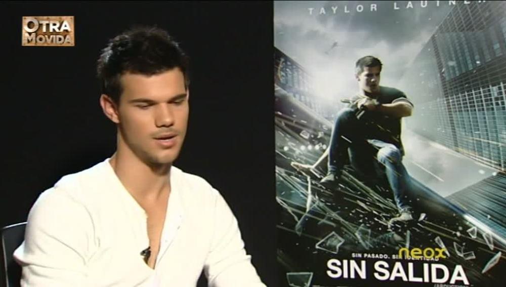 """Taylor Lautner: """"Es más difícil huir de las fans que de la policía"""""""