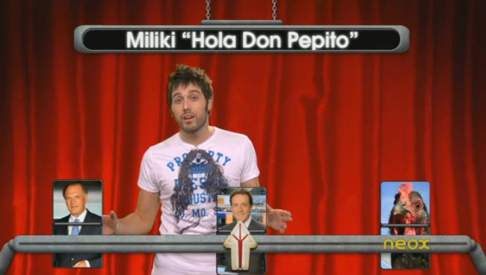 Hola Don Pepito a lo Piqueras y Matías
