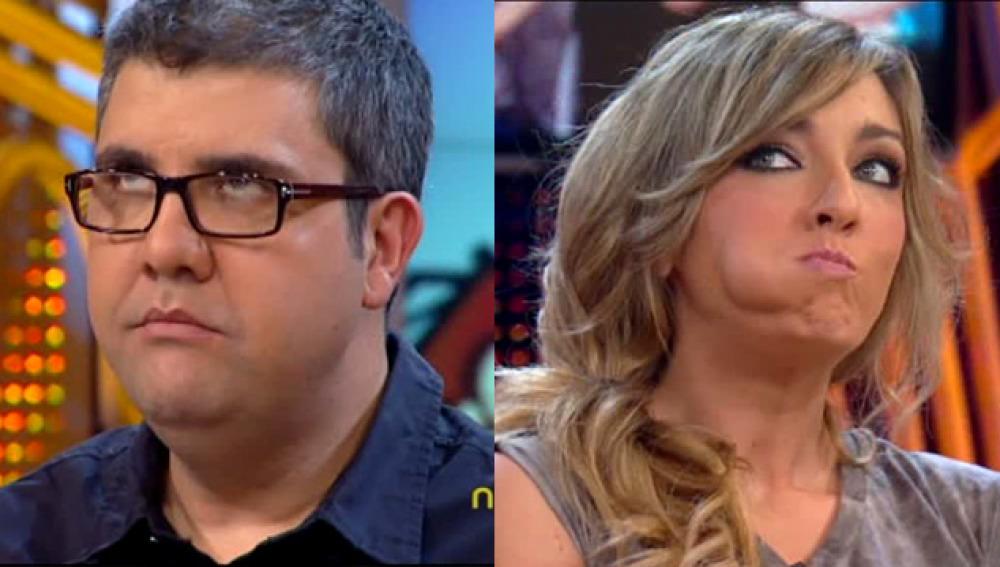 Florentino Fernández y Anna Simon