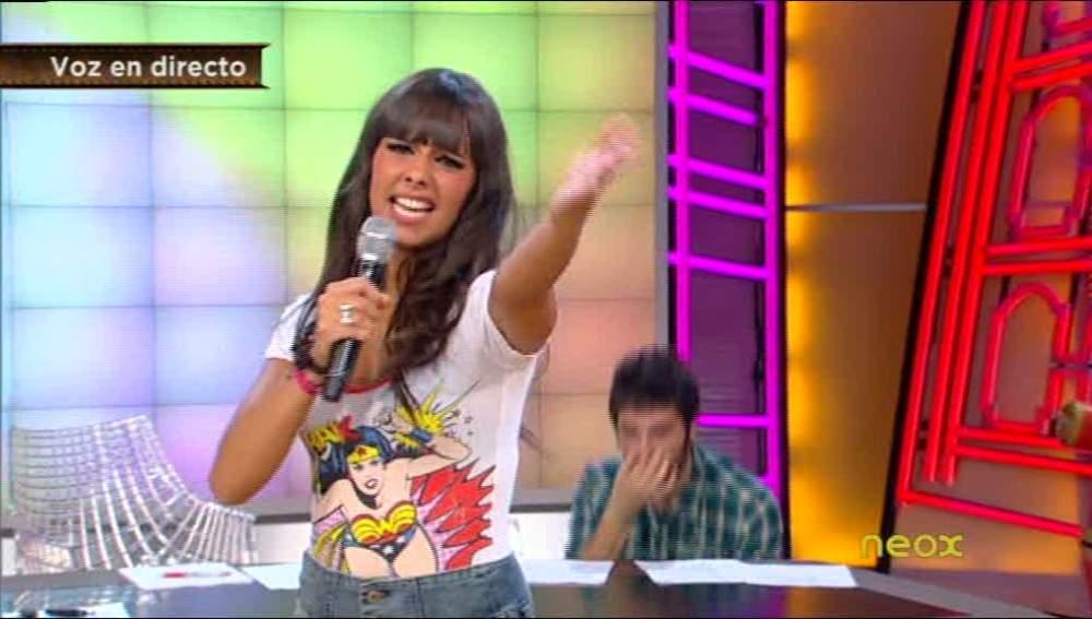 Cristina Pedroche se arranca con Camela