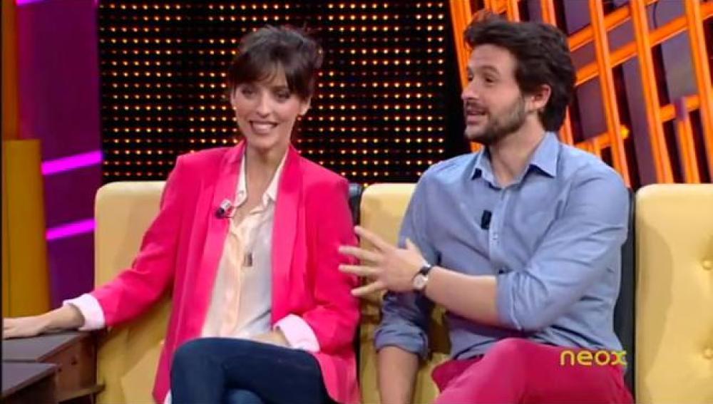 Leticia Dolera y Diego Martín