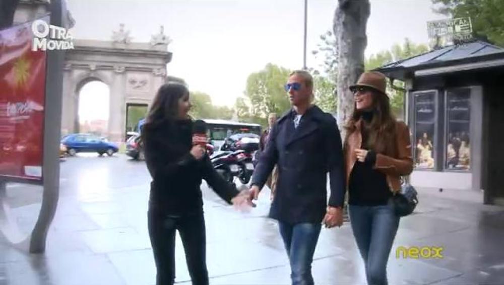Pedroche se encuentra con Romina y Guti