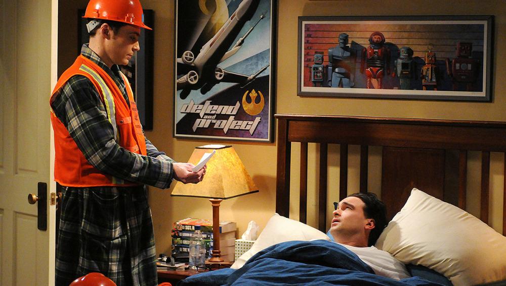 Sheldon quiere hacer un simulacro de emergencia