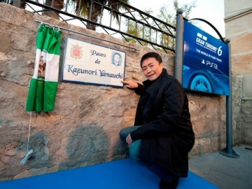 Paseo de Kazunori Yamauchi en Ronda