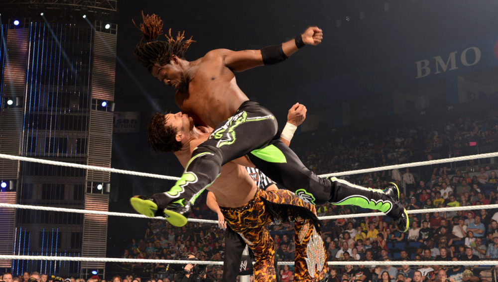 Fandango bailará ante Kofi Kingston