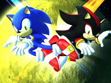 Sonic y Shadow, en Sonic Adventure 2