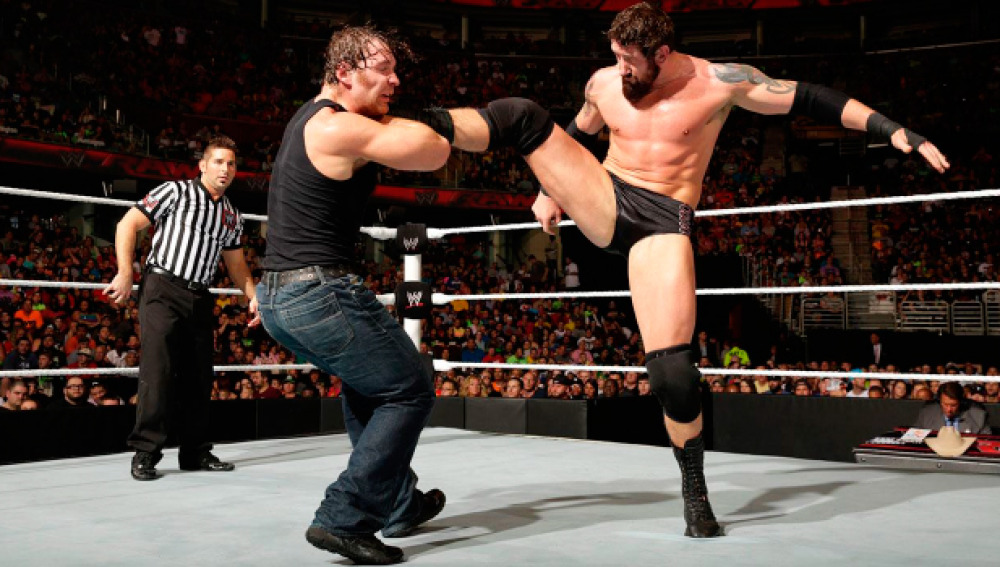 Bad News Barrett defiende su título de campeón Intercontinental ante Dean Ambrose,