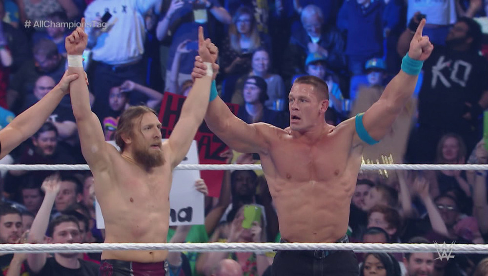 Daniel Bryan y John Cena se coronan en Londres