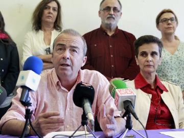 El diputado de Podemos al Parlamento por la isla de Tenerife, Francisco Deniz