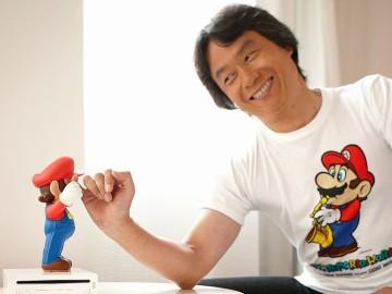 Shigeru Miyamoto y Super Mario