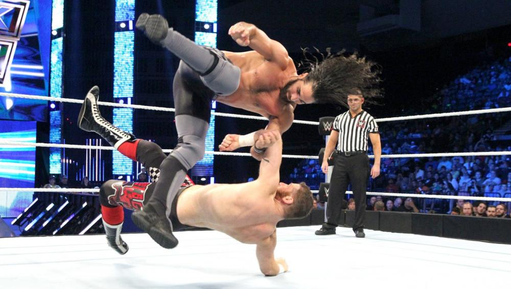 Rollins se impone a un desafiante Sami Zayn en 'SmackDown'