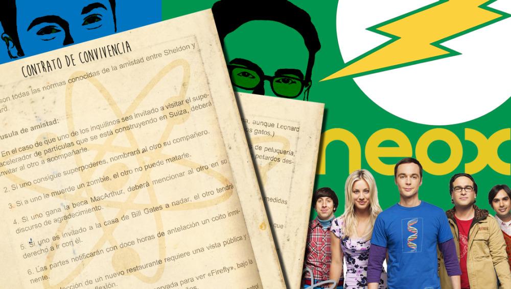 NEOX TV | Descubre el contrato de convivencia entre Sheldon y Leonard