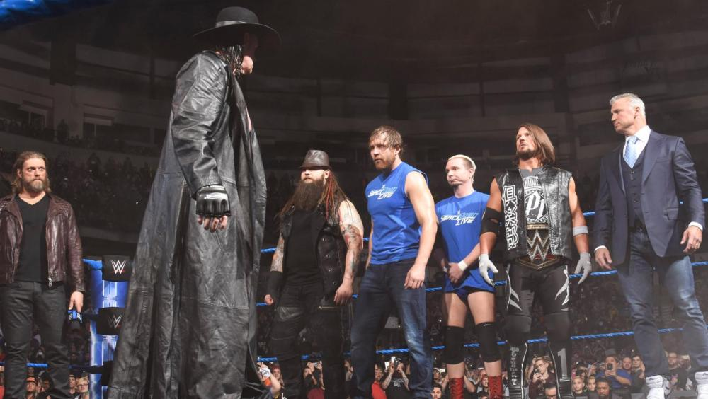 The Undertaker regresa a 'Smackdown Live'