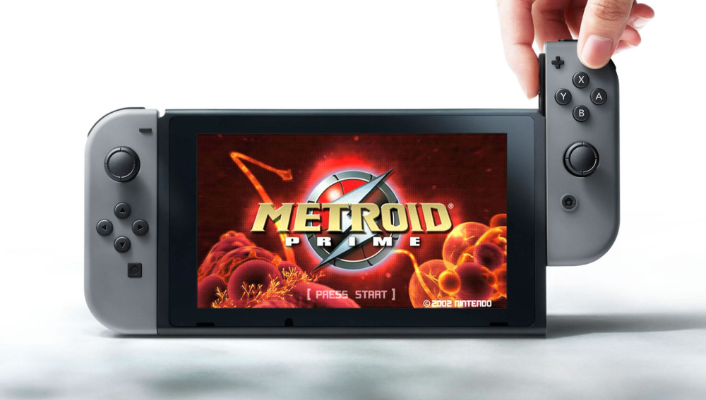 Metroid Prime en Nintendo Switch