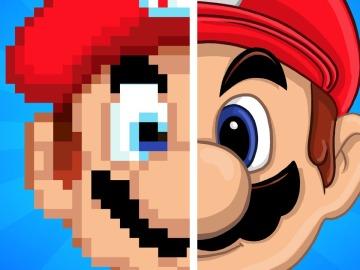 Evolución Super Mario