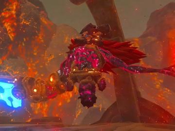 Ira del Fuego de Ganon en The Legend of Zelda: Breath of the Wild