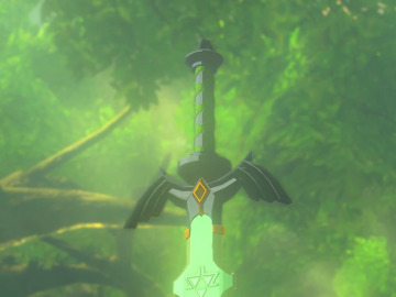 Espada Maestra en The Legend of Zelda: Breath of the Wild