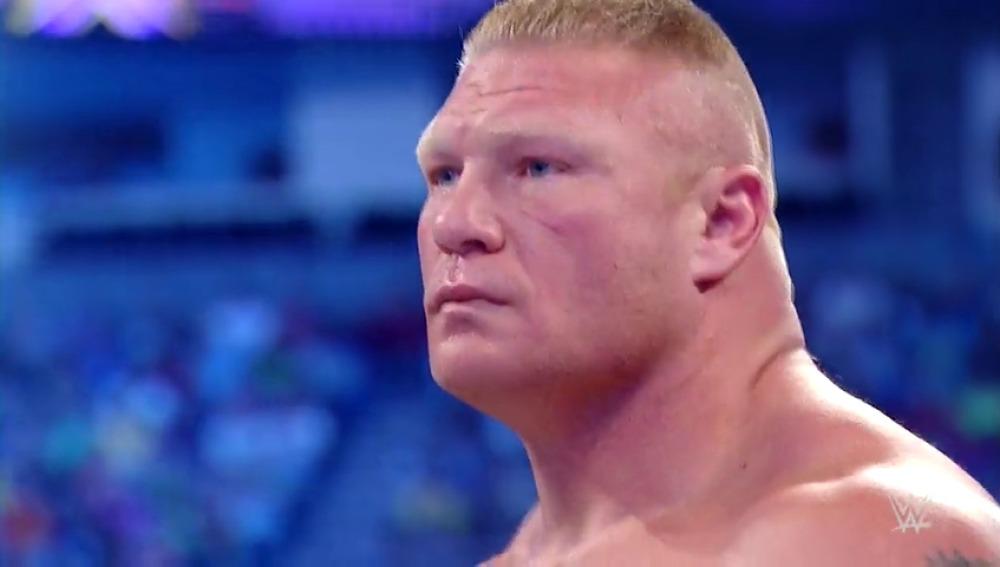 Frame 7.907172 de: Brock Lesnar envía ondas de choque a través del WWE Universe