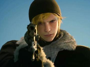 Prompto en Final Fantasy XV