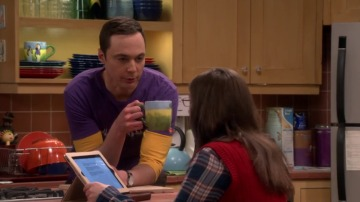 Frame 46.772023 de: Sheldon y Amy necesitan unas normas básicas de convivencia