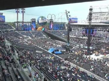 Frame 14.759091 de: Fernando Costilla, en directo desde el estadio donde se celebrará Wrestlemania 33