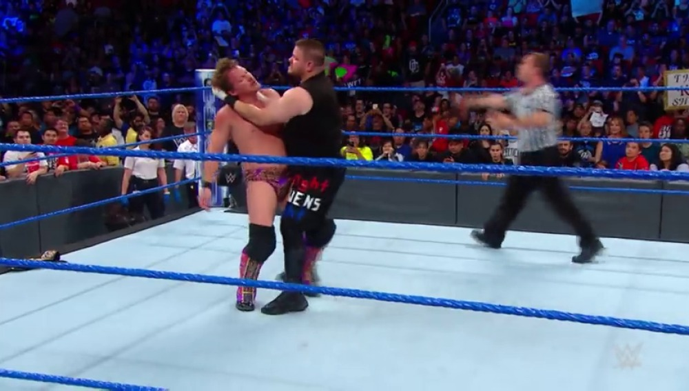 Frame 52.512997 de: Kevin Owens es el nuevo WWE United States Champion