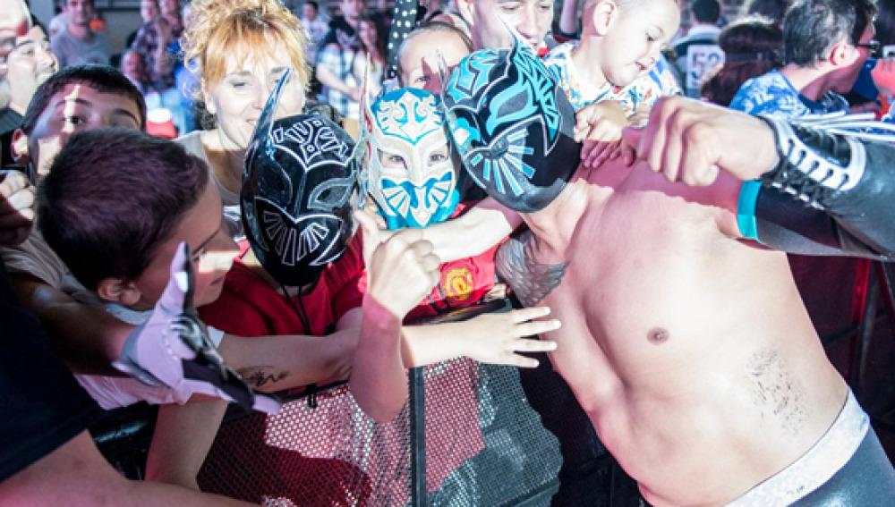 WWE triunfa en España y anuncia las fechas para noviembre