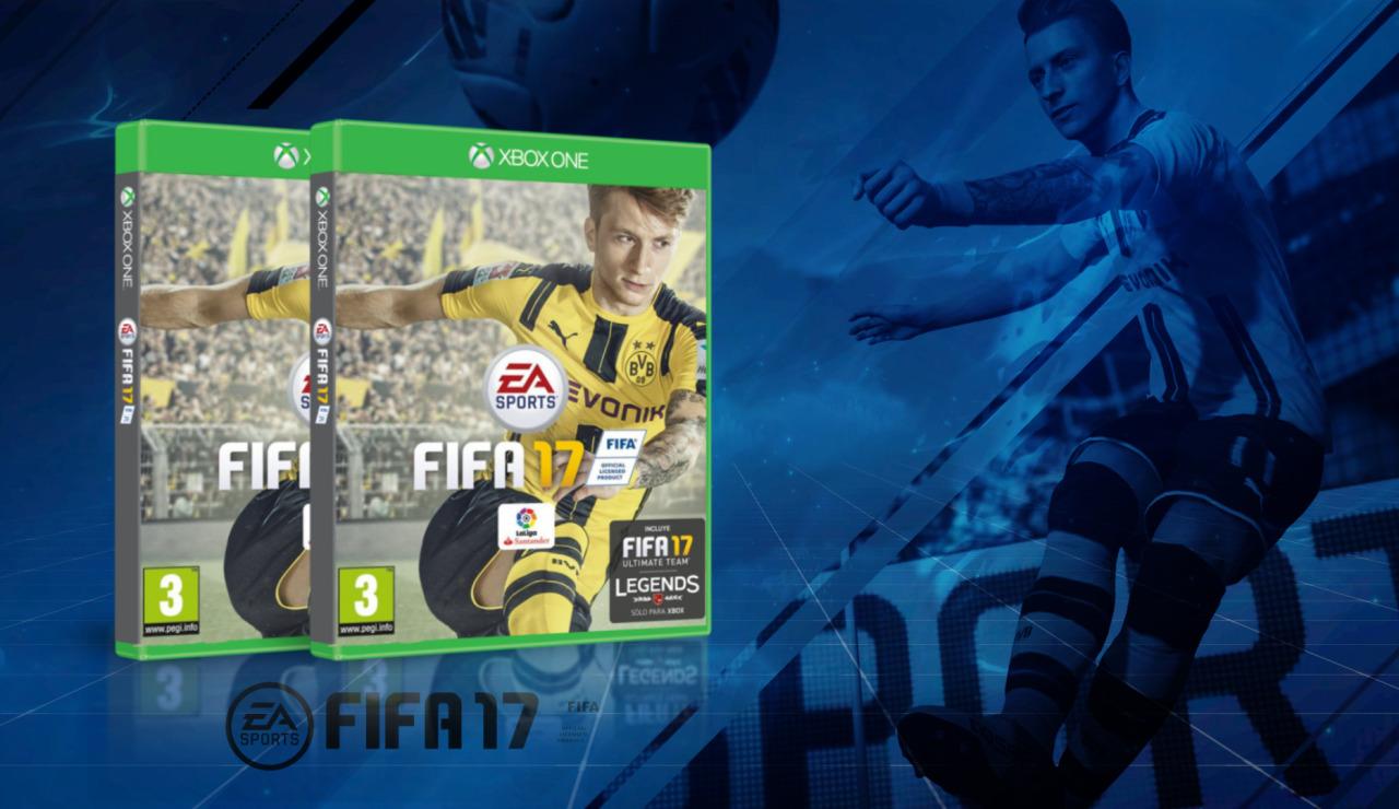 SORTEAMOS 2 COPIAS DE FIFA 17 PARA XBOX ONE