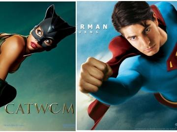 Catwoman y Superman Returns en Neox