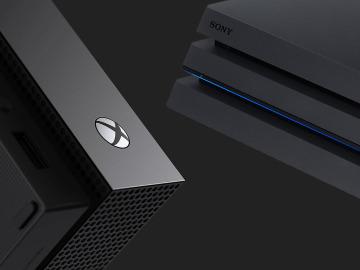 Xbox One X y PlayStation 4 Pro