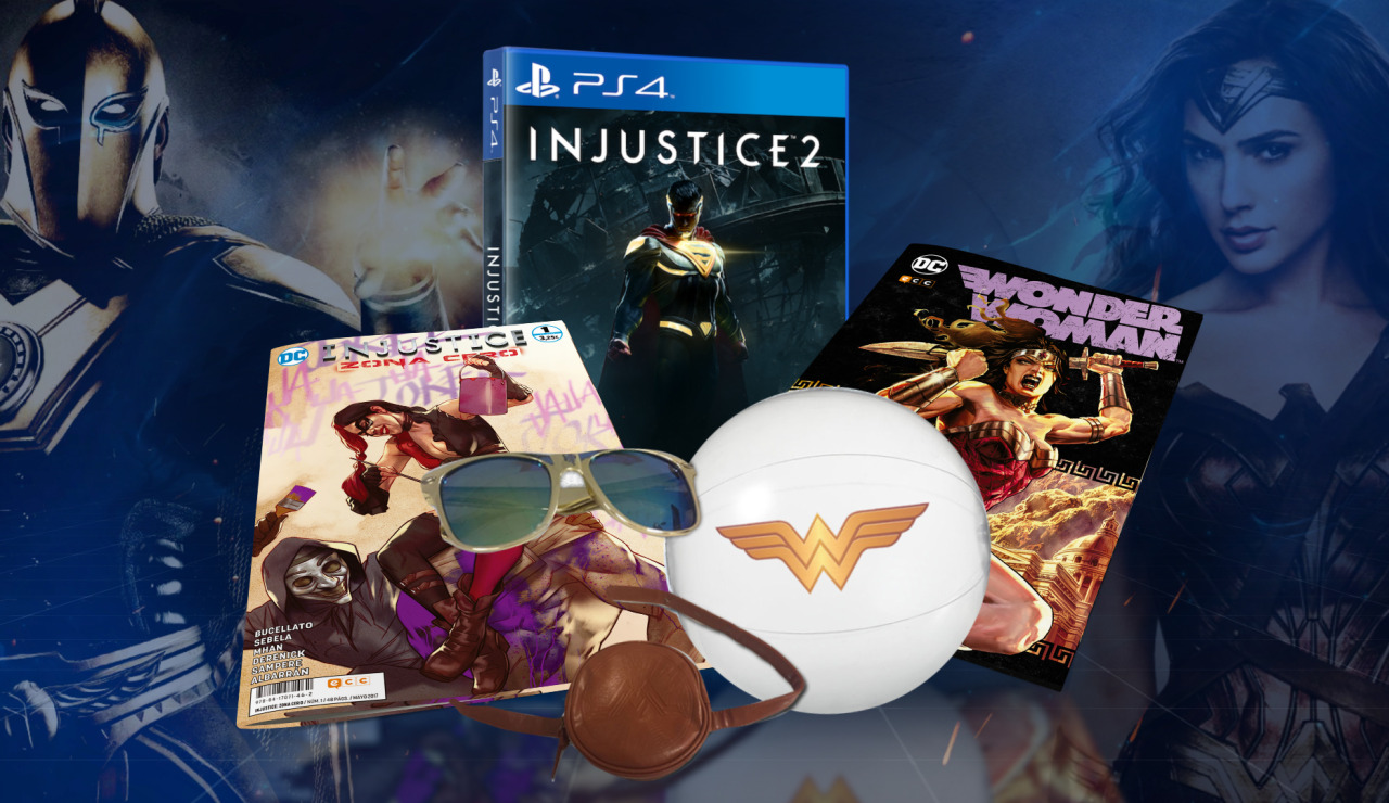Consigue este pack de Injustice 2 y Wonder Woman