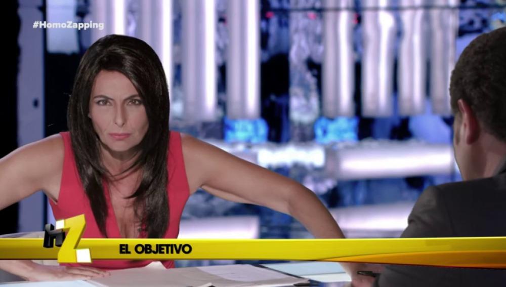 Ana Pastor juega al 'Veo veo'