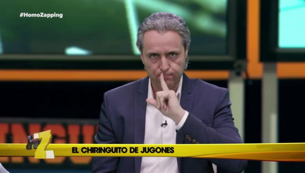 """Pedrerol: """"Hoy en el Chiringuito tenemos una polémica"""""""