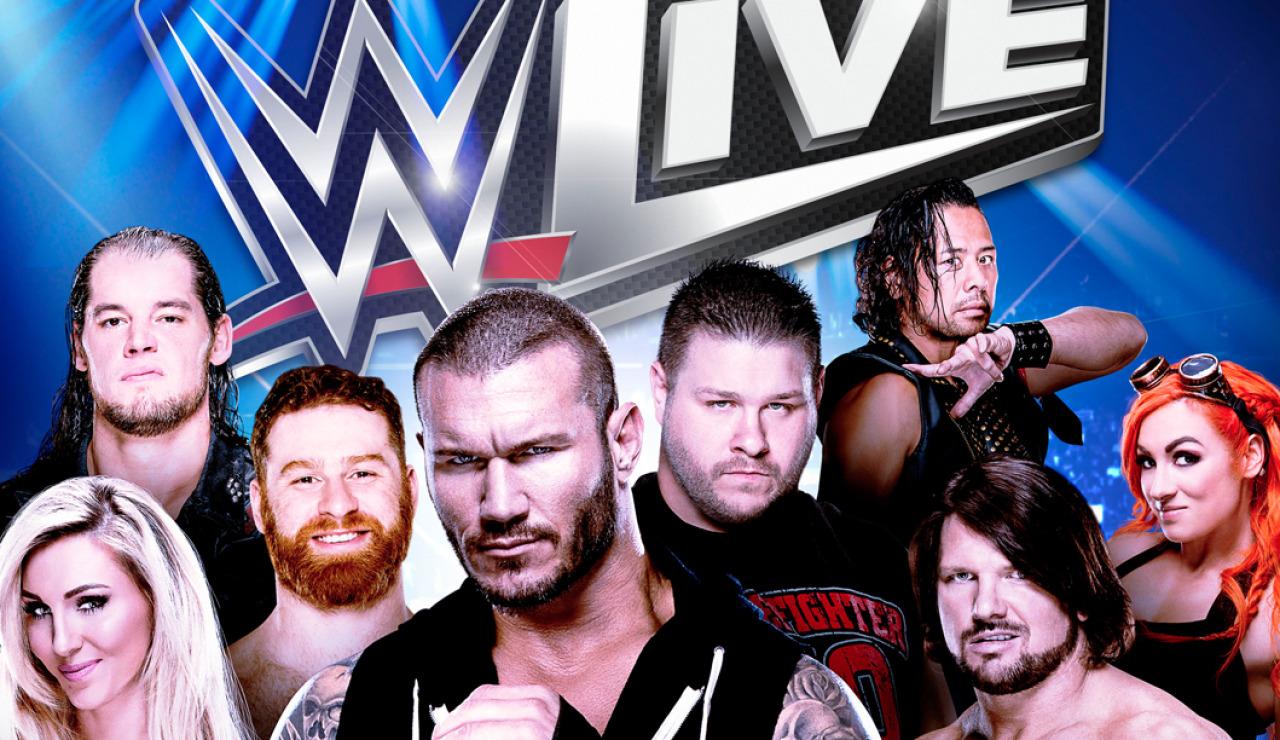 La WWE LIVE vuelve a España en Noviembre