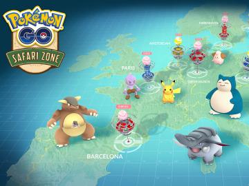 Pokémon GO Safari Zone