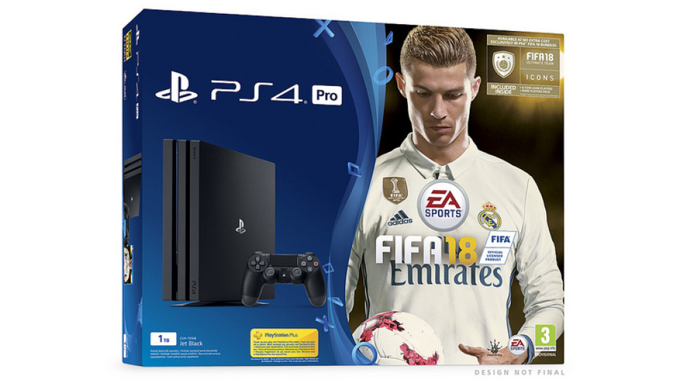 PS4 + FIFA 18 Bundle
