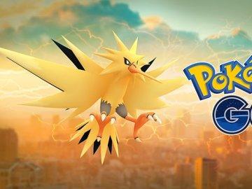 Zapdos en Pokémon GO
