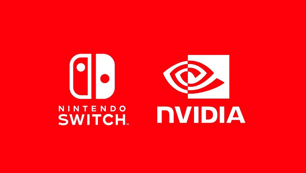 Logotipos de Nintendo Switch y NVIDIA