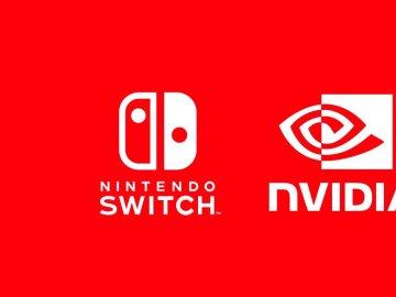 Logotipos de Nintendo Switch y NVIDIA